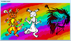 iScribble Rave by The-Caretaker