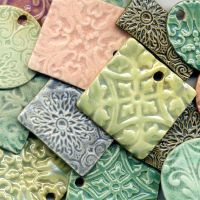 Ceramic Pendants by ChinookDesigns