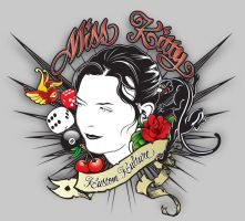 Final-ish Miss Kitty by satansbrand
