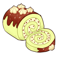 Swiss Roll Icon by onisuu