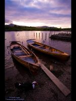 Derwent Boats and Turkey by GMCPhotographics
