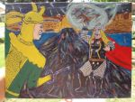 loki thor confrontation by omarvel1