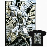 White Ranger Tee Template 1200x1200 UPDATED by martheus
