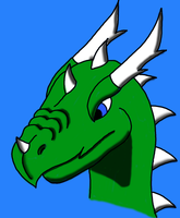 Random Dragon Head 2 by benzene66