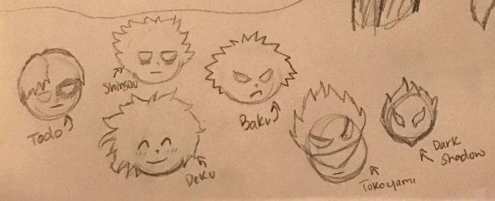 More BNHA Souls by fairytailwizardchick