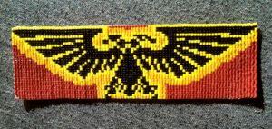 Warhammer 40k Imperial Aquila Bookmark by ravenarcana