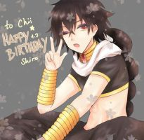Happy BDay Chii! by BlackTwin-Shiro