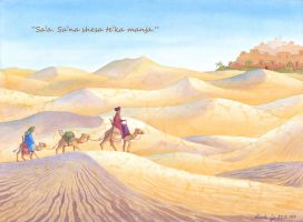 Son of the Desert by LualaDy