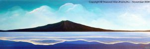 Rangitoto Waves by Tineswari