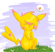re pika pika by DeerKitten
