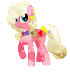 MLP OC - Crystal Love Hearts by StarlightRaven14
