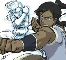 Quick Korra by CarishinLove
