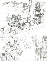 King of Street Fighters '11 by Rakugaki-otoko