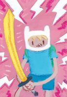 Finn the Human - Adventure Time by ExoesqueletoDV