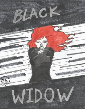 Black Widow by spookylolly