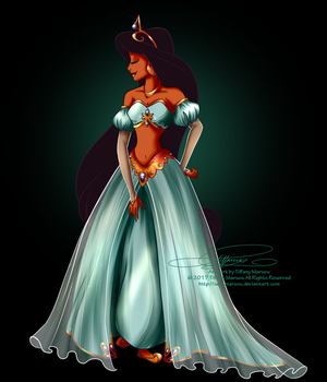 Disney Haut Couture - Jasmine by selinmarsou
