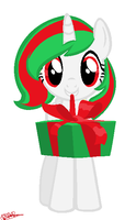 Here have a present. by xXTabithatheCatXx