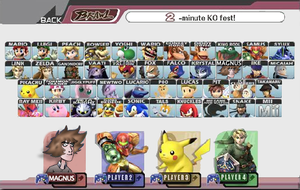 My Super Smash Bros Brawl by magnus87