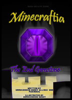 Minecraftia - The End Gemstone Cover Page by Lady-Armageddon