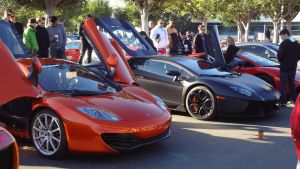Macca MP4-12C and Lambo Aventador by MercilessOne