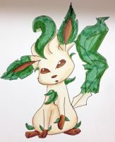 Eeveelution- Leafeon by MousieDoodles