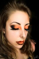 Whispers beyond the grave (Cemetery lip art) by Chuchy5