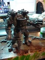 Deff knight the 3rd WIP by Solav