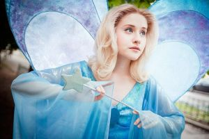 The Blue Fairy - Make a wish by Tink-Ichigo