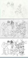 Wreck-It Ralph Process by KileyBeecher