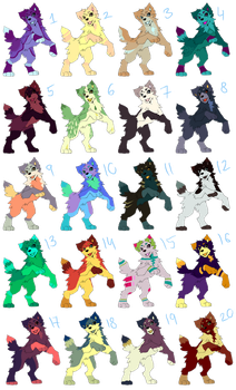 Adopts #2 !!50 PONTS EACH!! by i-Nath