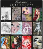 Art Summary 2015 by Katerina-Art