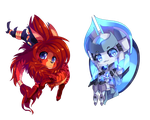 Chibi Charms by LillinApocalypse