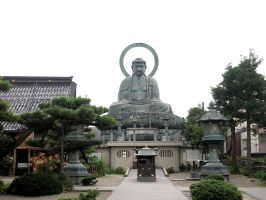 The Great Buddha of Takaoka by SayuriMVRomei