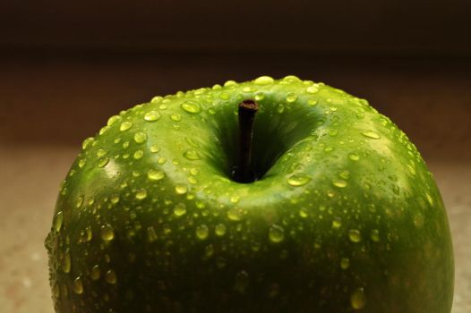 Green Apple Stock by Mailin-M