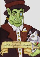 Sir Orkington Von Lutenpillage for Arrent-Knave by Allison-beriyani