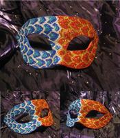Fire and Ice Mask by ToTheMask