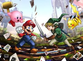 Super Smash Bros by CarlosSneak