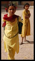 Indian girls by Tellor