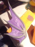 Craft Time! - Eridan Ampora fin by Dead-Batter