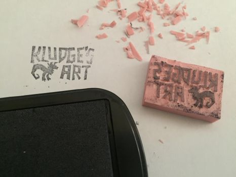 Logo stamp by Kludges