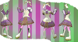 MMD Outfit 43 by MMD3DCGParts