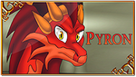 AToH - Pyron Stamp by DragonOfIceAndFire