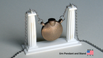 Greek Inspired URN and STAND - 3D Printed by TomWilcox