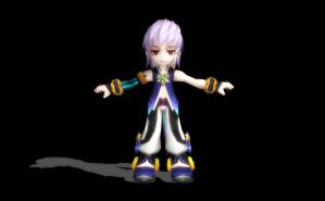 MMD Grand Chase Model Rip 44: Asin Tairin by Kritobias
