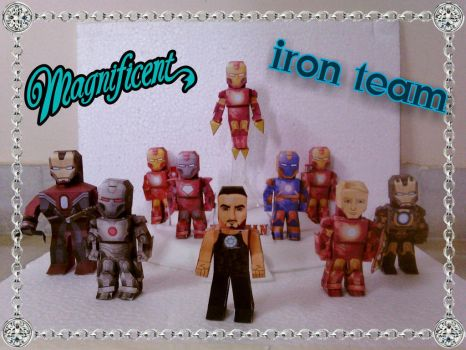 Magnificent Iron team by asirbachan