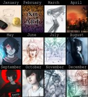 2012 summary of art by DamaiMikaz