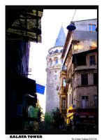 Galata Tower Istanbul by cemito