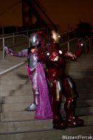 SDCC13 - Iron Couple by BlizzardTerrak