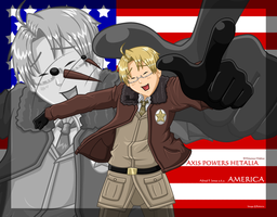 APH: America Wallpaper by Roksi10