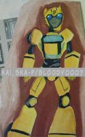 bumblebee transformers animate by Bloo-DKai12